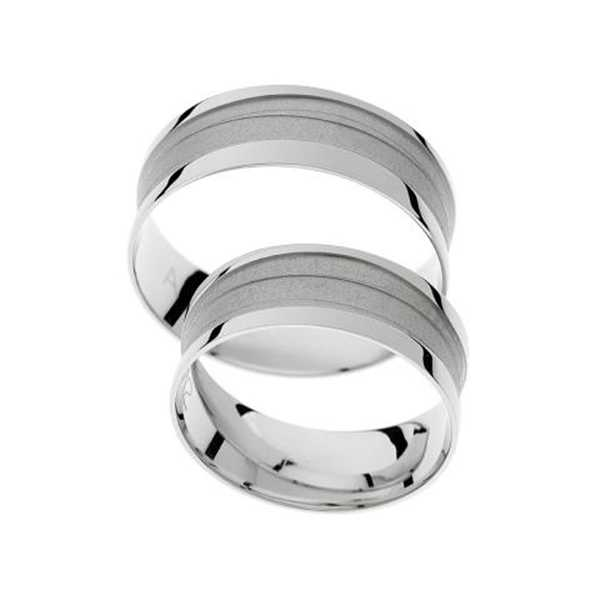 Snubní prsteny - žluté zlato - A1112