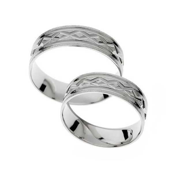 Snubní prsteny - žluté zlato - A1127