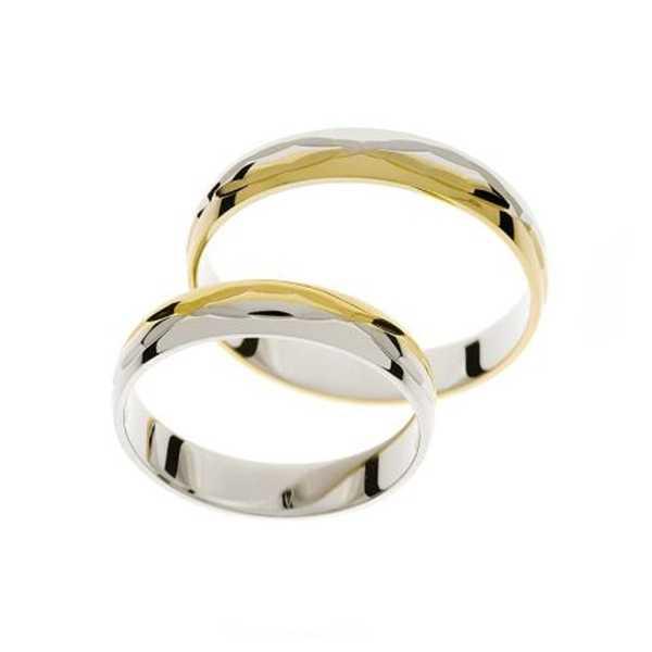 Snubní prsteny - žluté zlato - A1143