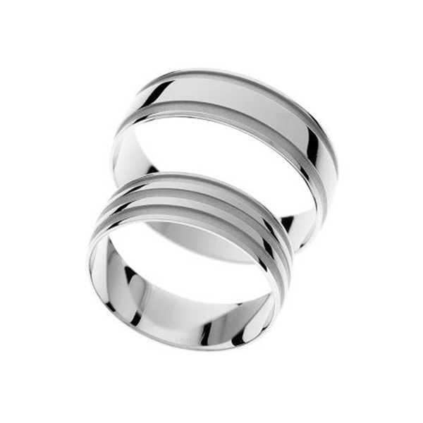 Snubní prsteny - žluté zlato - A1153