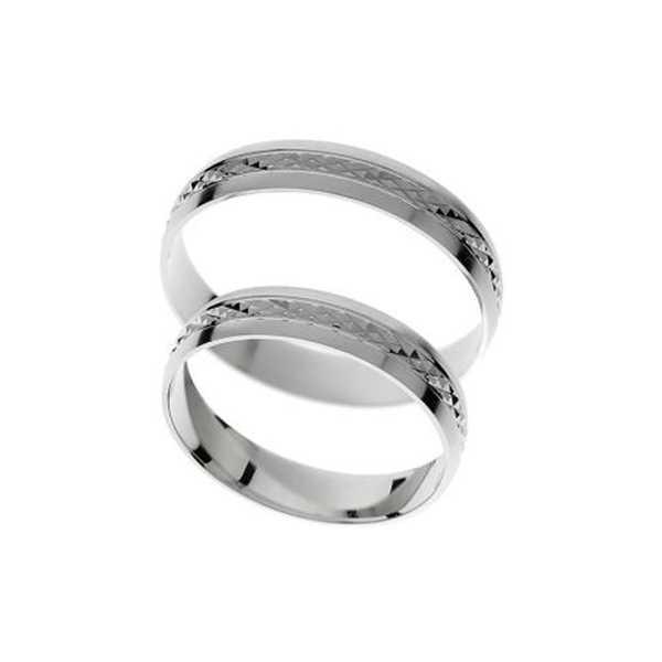 Snubní prsteny - žluté zlato - A1160