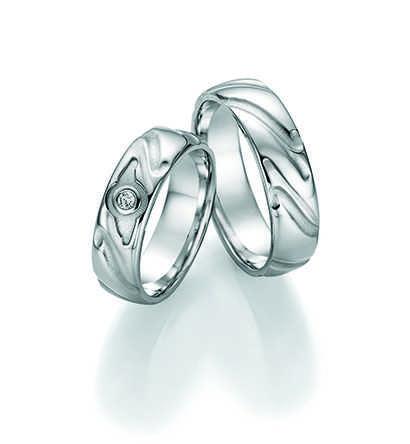 Snubní prsteny stříbrné